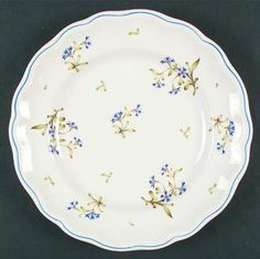 Discontinued Spode China Patterns | Pattern: Williamsburg Cornflower by SPODE CHINA