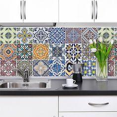 Adesivi murali - Adesivi per piastrelle Loske - In cucina ...