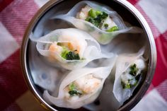 Nom Wah Tea Parlor, Chinatown | This restaurant is worth visiting for the history alone! Dating back to 1920, Nom Wah Tea Parlor is the oldest dim sum restaurant in NYC. Head here for freshly cooked dim sum  and order the Shrimp and Snow Pea Leaf Dumpling. (via meltingbutter.com)