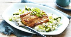 This tasty soy and sesame marinated barramundi is a great meal for hot summer nights, marinate, sizzle and serve in just 25 minutes!