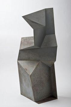 The inspiration provider Contemporary Sculpture, Contemporary Art, Sculpture Metal, Cubist Sculpture, Geometric Sculpture, Geometric Form, Concrete Art, Arte Popular, Land Art