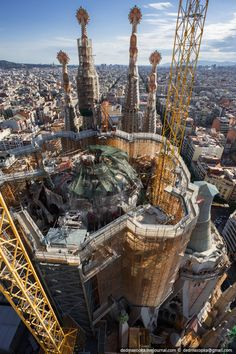 the city, the Temple of the Holy Family (Sagrada Familia)......""