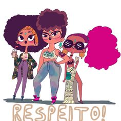 Brazilian digital artist fills her spunky illustrations with #BlackGirlMagic - AFROPUNK