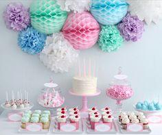 Pastel Dessert Display - by Zuckermonarchie