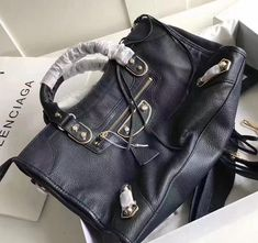 Balenciaga Clasic Gold Metallic Edge Goatskin City Bag Size: cm Tips: I would really like to recommend this site https:. Designer Purses, Balenciaga City Bag, Bag Sale, Deep Blue, Metallic, Shoulder Bag, Gold, Bags, Fashion