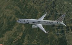 silk route in pakistan | ... Pakistan International Airlines Boeing 737-800 'Gilgit The Silk Route