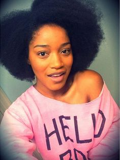 All natural hair teen