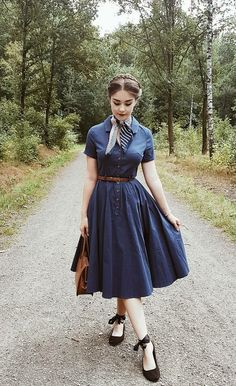 1950s Outfits, Dress Outfits, Vintage Outfits, Cute Outfits, Fashion Outfits, Fashion Fashion, 1940s Fashion Dresses, Club Fashion, Office Fashion