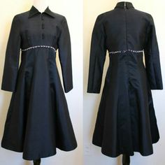 1950's Silk Blend Party dress