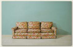Sofa, 2009, acrylic & oil on masonite by   Holly Farrell