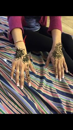 Another henna design By: Kajal Sharma