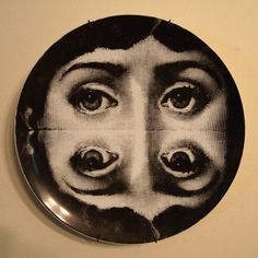 Fornasetti Plate 1960s Tema & Variazioni by JohnKlineArtwork, $190.00
