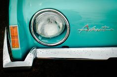 1963 Studebaker Avanti Emblem - Car photographs  by Jill Reger