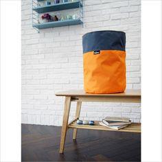 플레이링®의 패브릭 햄퍼 가을(Orange) 색상입니다. 부끄러움 타는 가을 단풍을 닮았어요!
