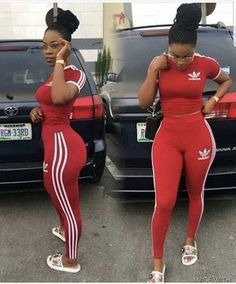 Here is Red Adidas Outfit Picture for you. Red Adidas Outfit adidas originals firebird track top in scarlet red 3 stripe tracksuit Dope Outfits, Swag Outfits, Girl Outfits, Casual Outfits, Fashion Outfits, Adidas Outfits For Women, Cute Addidas Outfits, Hipster Outfits, Fashion Hair