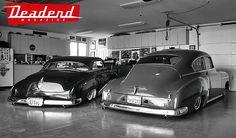 Clean customs, clean garage. #DeadendMagazine #BobNelson