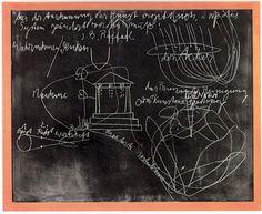 JOSEPH BEUYS Tafel I: Geist – Recht – Wirtschaft (Board I: Spirit – Law – Economics) 1978 Chalk on blackboard 35 3/8 x 43 1/4 inches 90 x 110 cm 40 1/2 x 48 x 2 inches (framed) 102.9 x 121.9 x 5.1 cm