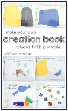 make your own creation book {free printable} - Wildflower Ramblings