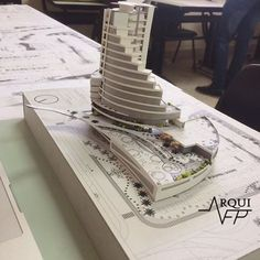 Need To Get Hotel Knowledge? Hotel Design Architecture, Concept Models Architecture, Commercial Architecture, Futuristic Architecture, Habitat Collectif, Presentation Board Design, Modern Villa Design, Arch Model, Building Design