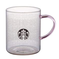 Starbucks Asia (Taiwan, Japan, etc) 2016 Sakura Frosted glass mug