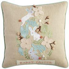 Easter Egg Cluster Pillow