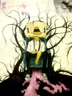 Alex Pardee - favourite artist  The Used - favourite band