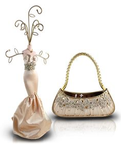 Take a look at this Gold Dazzling Gems Jewelry Stand & Handbag Ring Holder on zulily today!