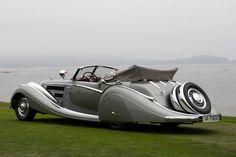 1935-1937 Horch 853 Voll & Ruhrbeck Sport Cabriolet. www.kerlagons.com