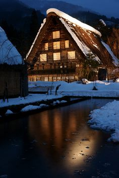 World Heritage - Shirakawa Village, Japan 飛騨白川郷