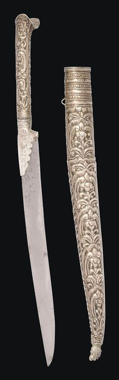 A SILVER YATAGHAN - OTTOMAN TURKEY OR THE BALKANS, LATE 18TH/EARLY 19TH CENTURY