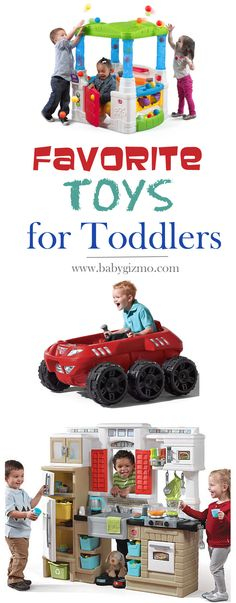 Need a great holiday gift for a toddler? Here are some of our favorites by Step2!! #holidaytoys