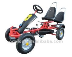adult pedal go cart with two seats $125~$200