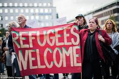 Ultra-liberal: Sweden has a reputation for welcoming any foreigner, and handing out generous  benefits