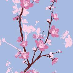 Papel De Parede Floral 62
