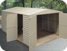 lowe's biggest sheds   PVC Sheds – The Secret to Creating More Space in Your Home and Yard ...