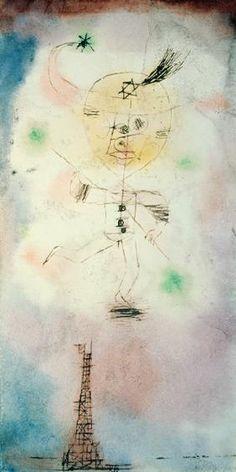 Paul Klee - Der Komet von Paris, 1918.