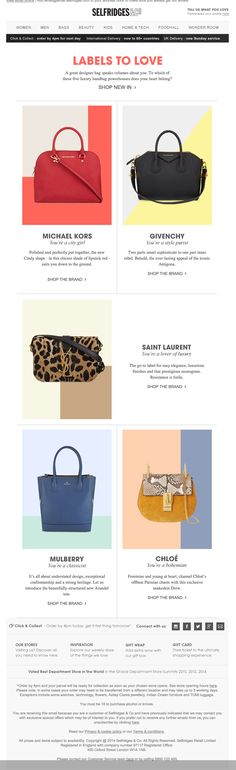 bags & backgrounds to love