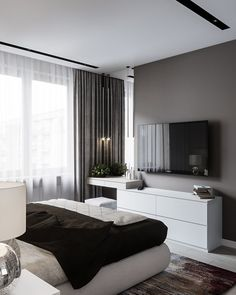 60 best master bedroom ideas that you'll fall in love with it 51 is part of Interior design bedroom - 60 best master bedroom ideas that you'll fall in love with it 51 Related Home Decor Bedroom, Interior Design Bedroom, Bedroom Decor, Apartment Decor, Bedroom Interior, Home, Modern Bedroom, Home Decor, Luxurious Bedrooms