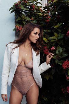 Alyssa Arce in SHEER SEXY BODYSUIT by LoveHaus @mimi3reload