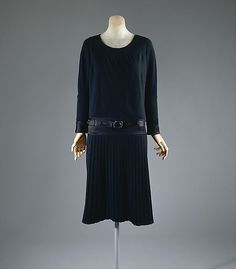 Dress by Coco Chanel, 1927 from the Metropolitan Museum of Art