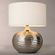 Metal and chrome inspiration from John Lewis to find your perfect table lamps for your home