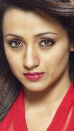 Beautiful Girl Indian, Most Beautiful Indian Actress, Beautiful Girl Image, Beautiful Eyes, South Indian Actress Hot, Indian Actress Hot Pics, Beautiful Bollywood Actress, Beautiful Actresses, Trisha Actress