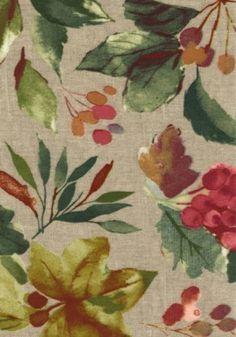 1424 APPELBI BERRY  Oil Cloth, Tablecloths, GFAR Fabrics