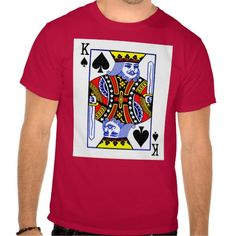 KING OF SPADES TEE SHIRTS