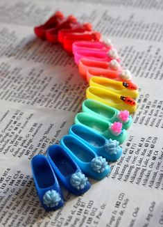 Dolly shoe rainbow <3