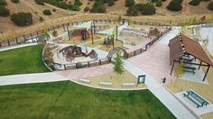 Southwest Activity Node Regional Park - Playground