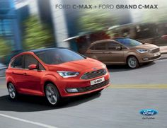 Catalog FORD C-MAX si Ford Grand C-Max!Noul C-MAX este o masina ideala pentru parinti, avand 5 locuri iar Grand C-Max 7 locuri.