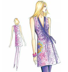 """LOVE this brand of sewing patterns!  @Jenna Smith, have you seen them?  There are some really unique designs, all for the """"experienced"""" seamstress with """"expert sewing skills"""".  (I need to get my machine fixed!!!)"""