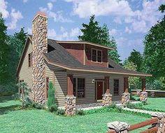 Plan 38000LB: Rustic Craftsman House Plan