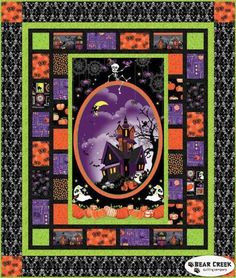 Frightful and Delightful Free Quilt Pattern from Henry Glass & Co., Inc.